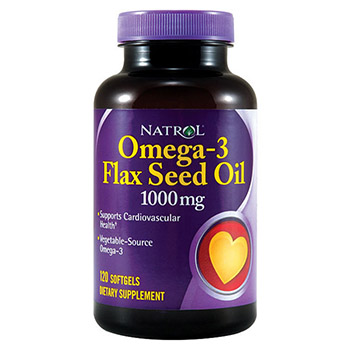 Льняное масло Omega-3 Flaxseed Oil (90 кап)