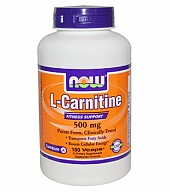 L-карнитин Acetyl L-Carnitine 500 mg (30 кап)