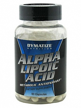 Антиоксиданты Alpha Lipoic Acid (90 кап)