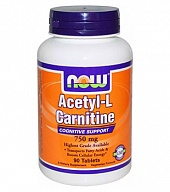 L-карнитин Acetyl L-Carnitine 750 mg (90 таб)