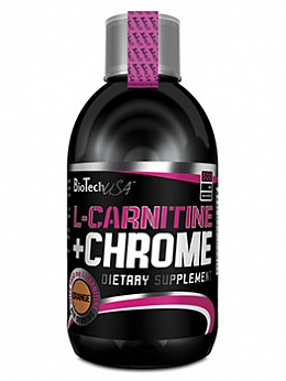 L-карнитин L-Carnitine + Chrome (500 мл)
