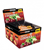 Протеиновое печенье Multibox Protein Cookies Fiber 25% Protein (12 пак)