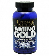 Аминокислоты в капсулах Amino Gold Capsules 1000 mg (250 кап)